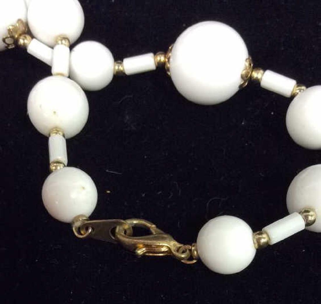 Pair Beaded Necklaces Jewelry - 5