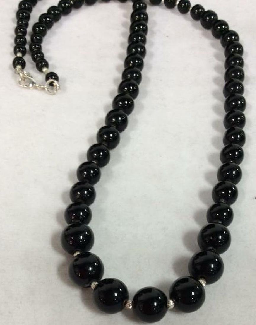 Pair Beaded Necklaces Jewelry - 7