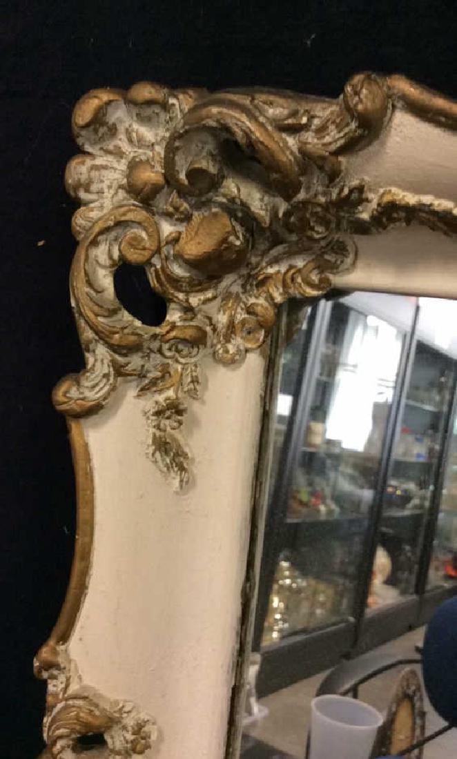 Ornate Detailed Wooden Framed Mirror - 3
