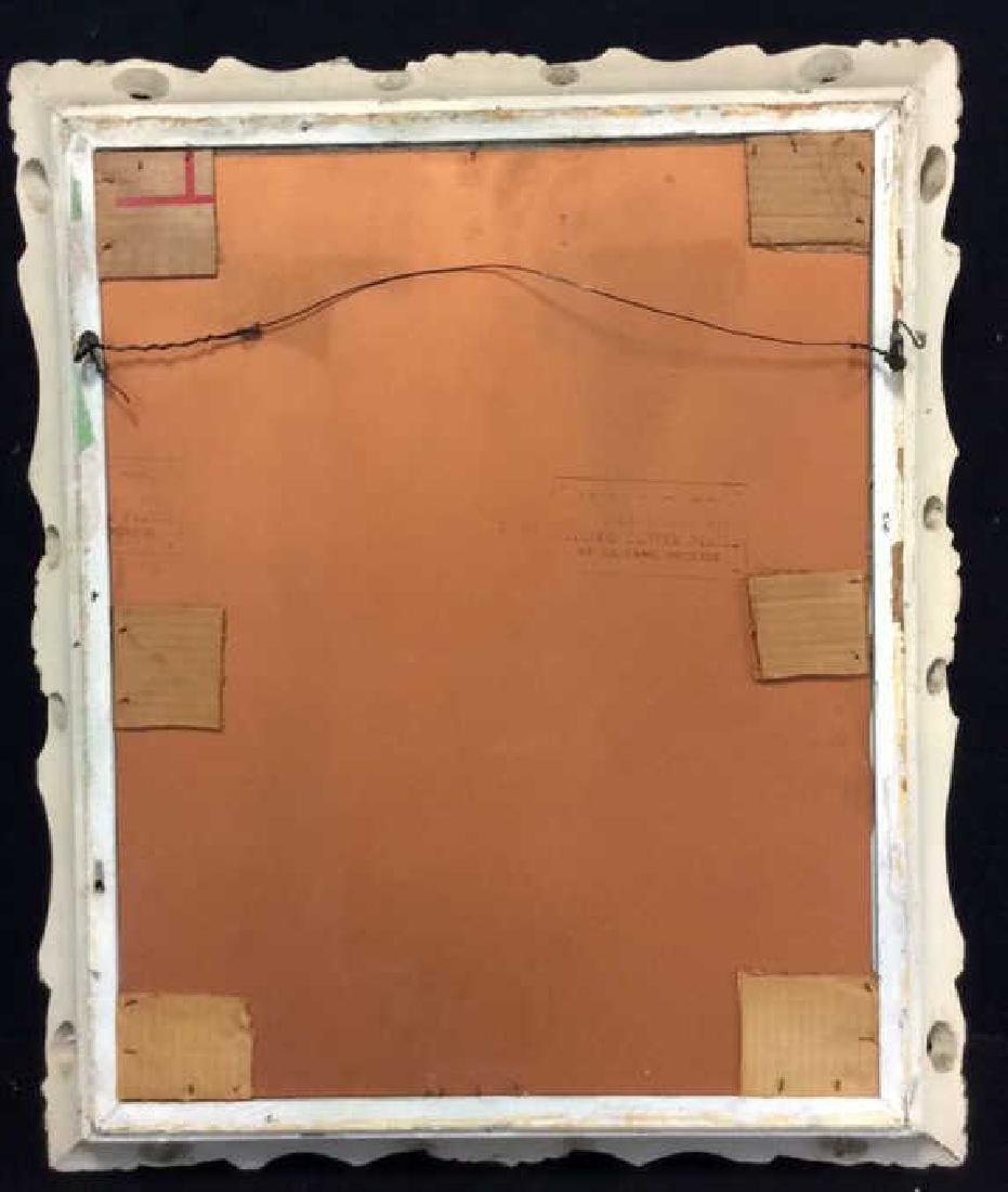 Ornate Detailed Wooden Framed Mirror - 8