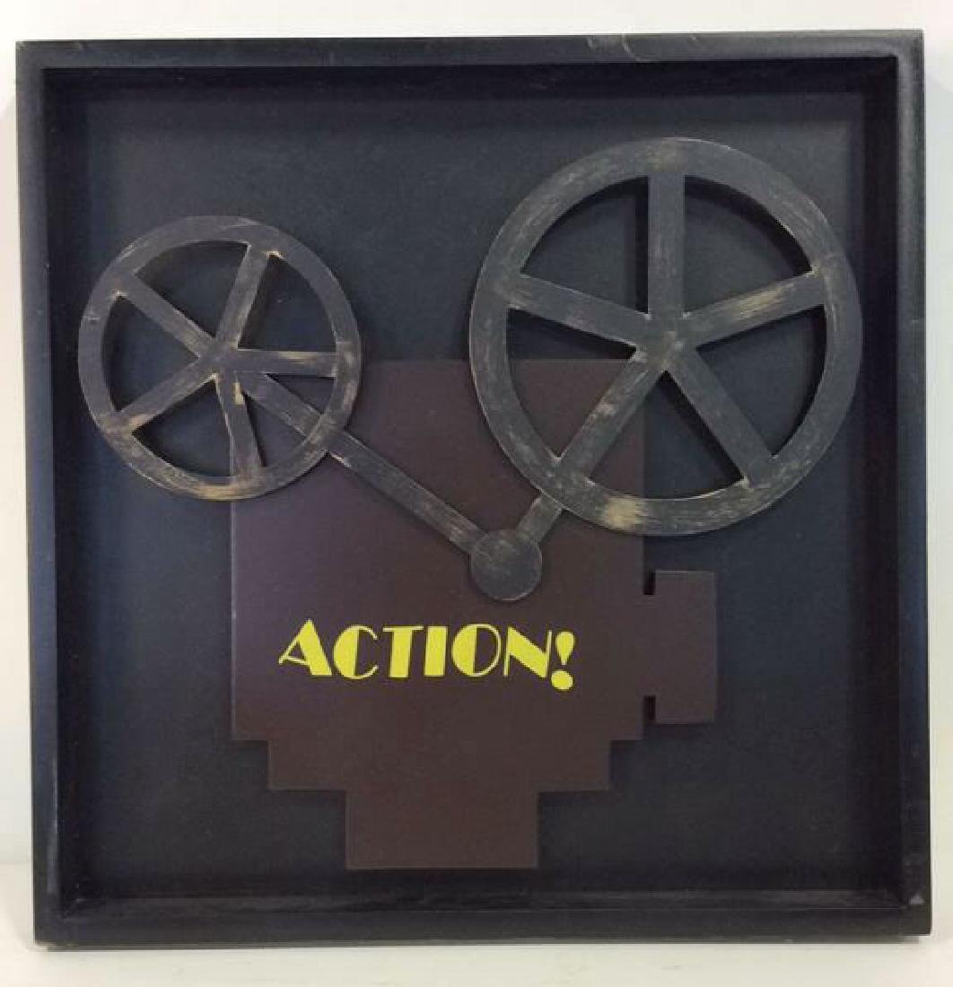 Shadow Box Wall Art Movie Projector