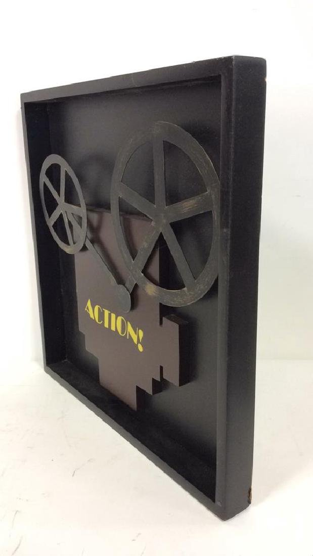 Shadow Box Wall Art Movie Projector - 4