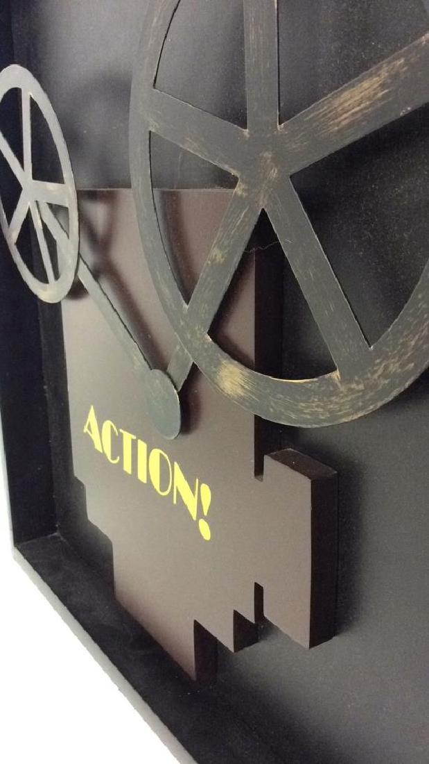 Shadow Box Wall Art Movie Projector - 5
