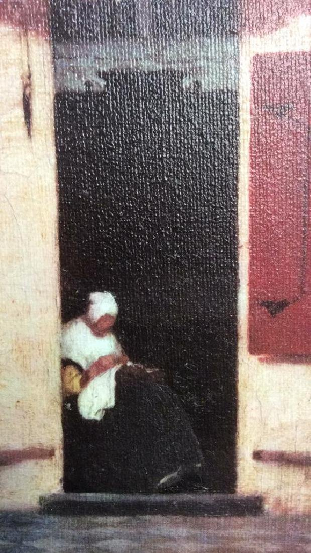 JOHANNES VERMEER THE LITTLE STREET Framed Print - 10