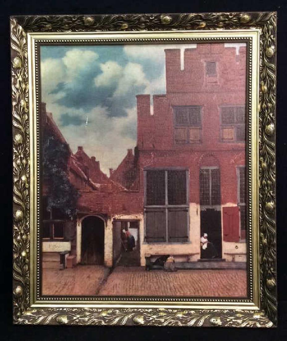 JOHANNES VERMEER THE LITTLE STREET Framed Print