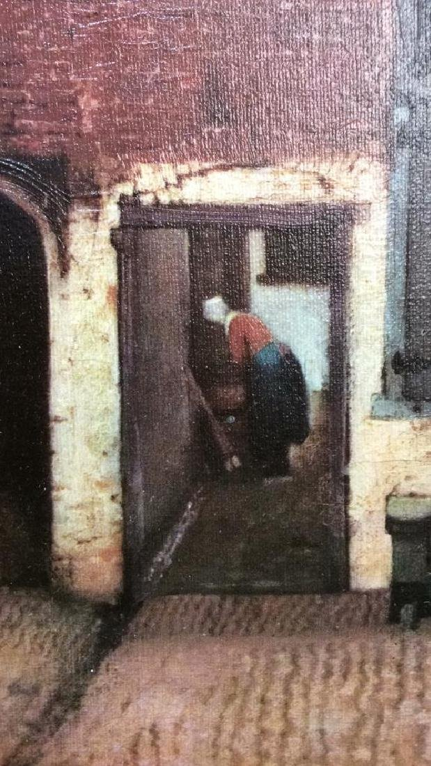 JOHANNES VERMEER THE LITTLE STREET Framed Print - 5
