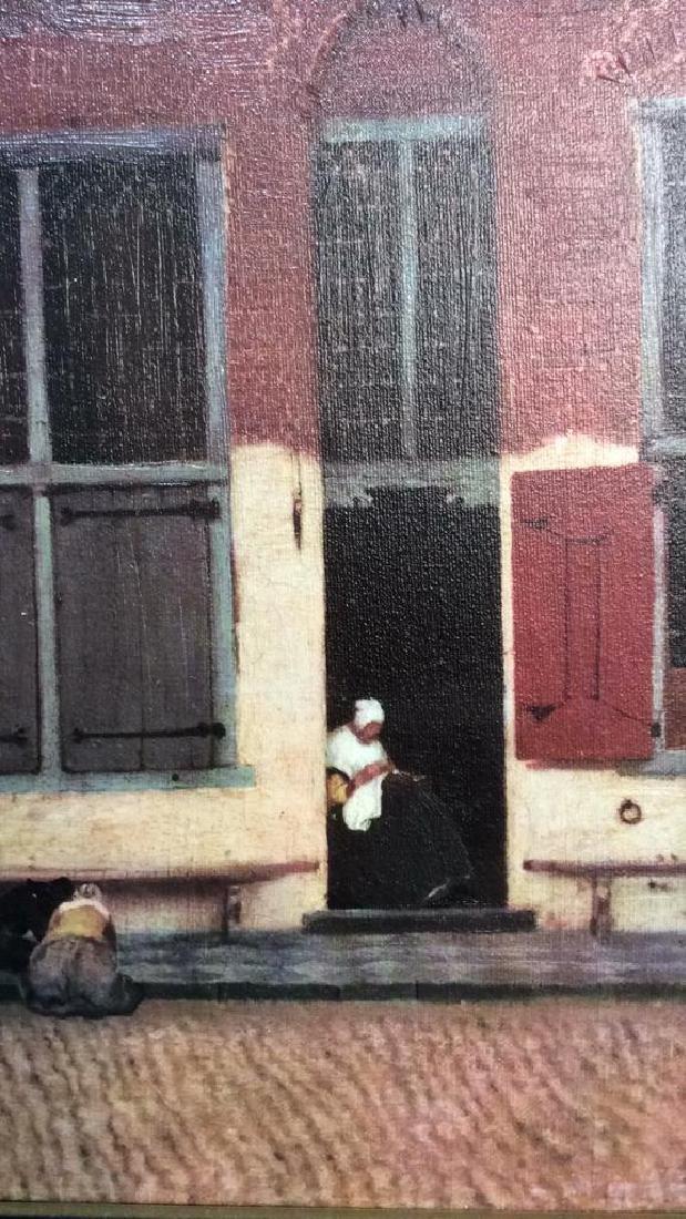 JOHANNES VERMEER THE LITTLE STREET Framed Print - 6
