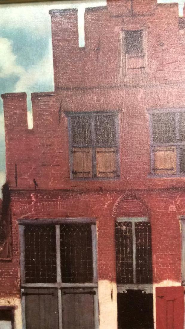 JOHANNES VERMEER THE LITTLE STREET Framed Print - 7