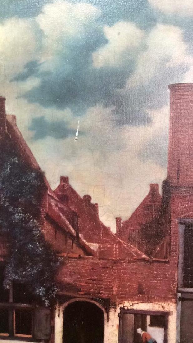 JOHANNES VERMEER THE LITTLE STREET Framed Print - 8