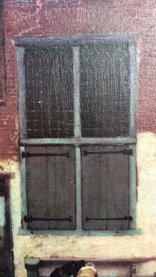 JOHANNES VERMEER THE LITTLE STREET Framed Print - 9