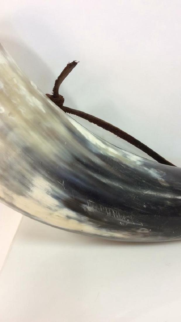 Viking Style Horn Drinking  Fask, Flaghorn - 2