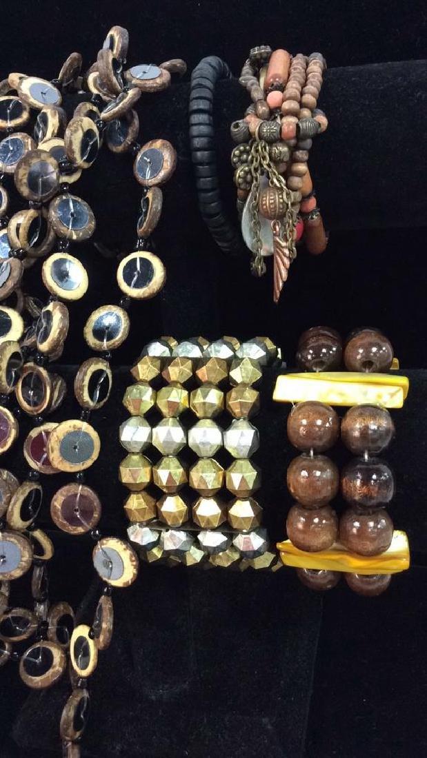 Lot 5 Assorted Women's Beaded Jewelry