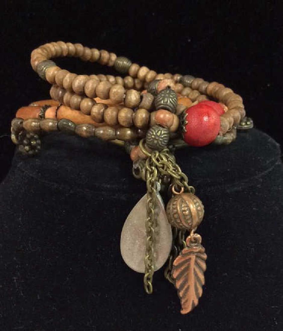 Lot 5 Assorted Women's Beaded Jewelry - 9