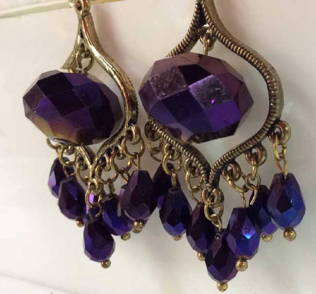 Iridescent Glass Beaded Earrings Jewelery - 2