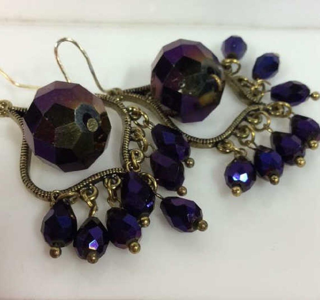Iridescent Glass Beaded Earrings Jewelery - 3