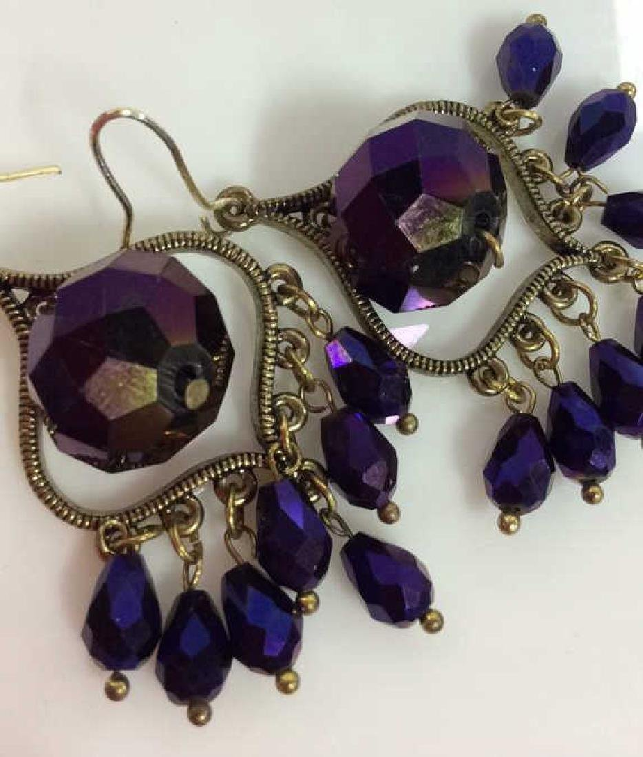 Iridescent Glass Beaded Earrings Jewelery - 4