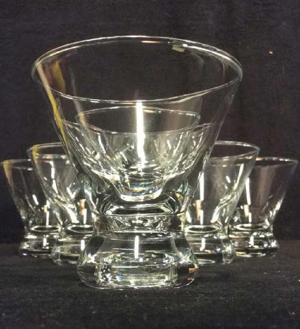 Lot 7 Cocktail Glasses barware tabletop