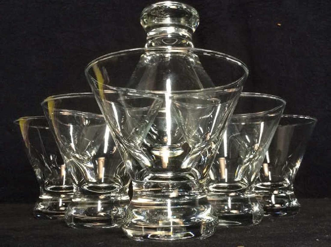 Lot 7 Cocktail Glasses barware tabletop - 3
