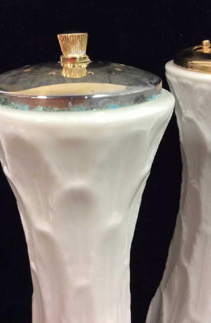 Pair LENOX Salt Shaker & Pepper Grinder - 3