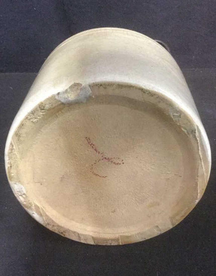 Sand Toned Handled Ceramic Jug - 4