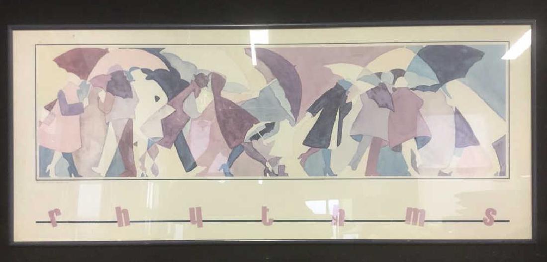 PHYLLIS RUTIGLIANO RHYTHMS Poster W Art Print