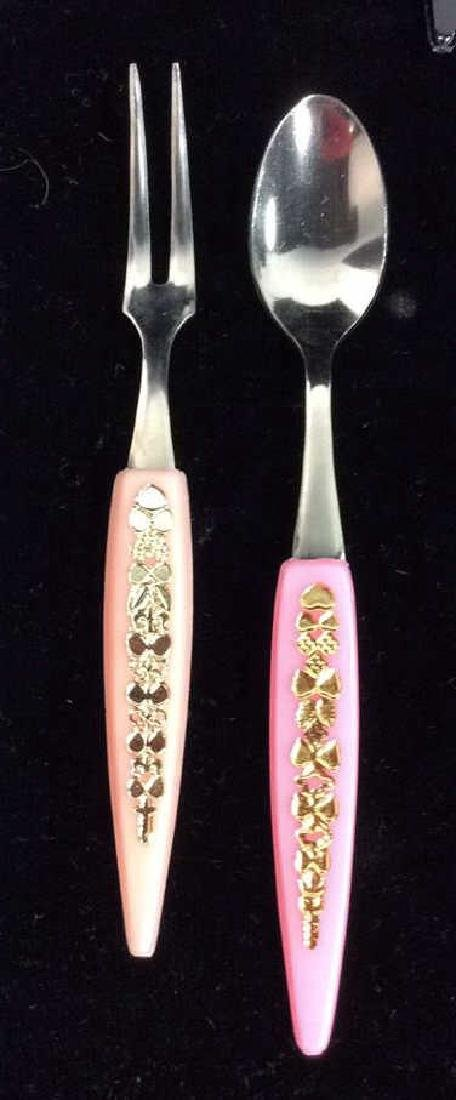 Lot 24 Hors d'oeuvre Forks and Spoons - 4