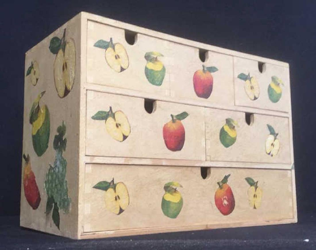Wooden, Fruit Detailed Jewelry Box - 2