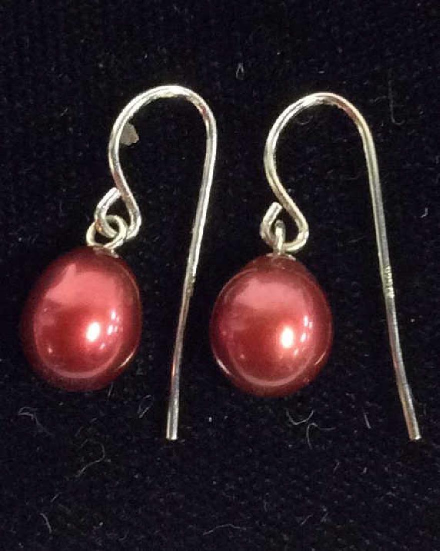 Lot 7 Pairs of Pearl Earrings Vintage Jewelry - 6