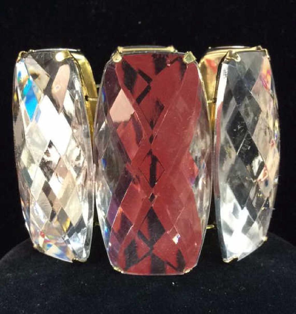 Lot 2 Rhinestone Jewelry Pieces - 2
