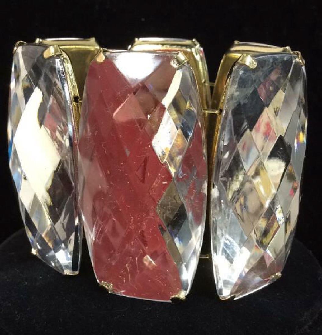 Lot 2 Rhinestone Jewelry Pieces - 3