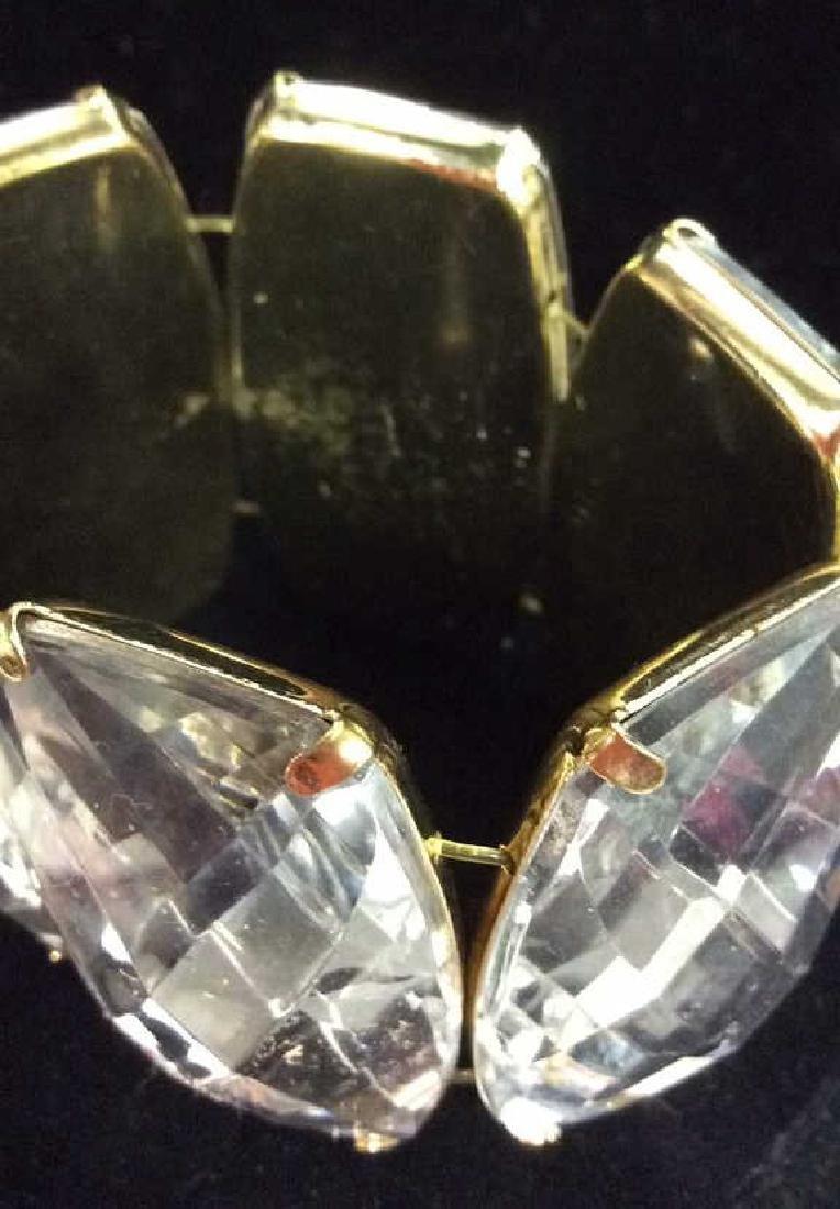 Lot 2 Rhinestone Jewelry Pieces - 4