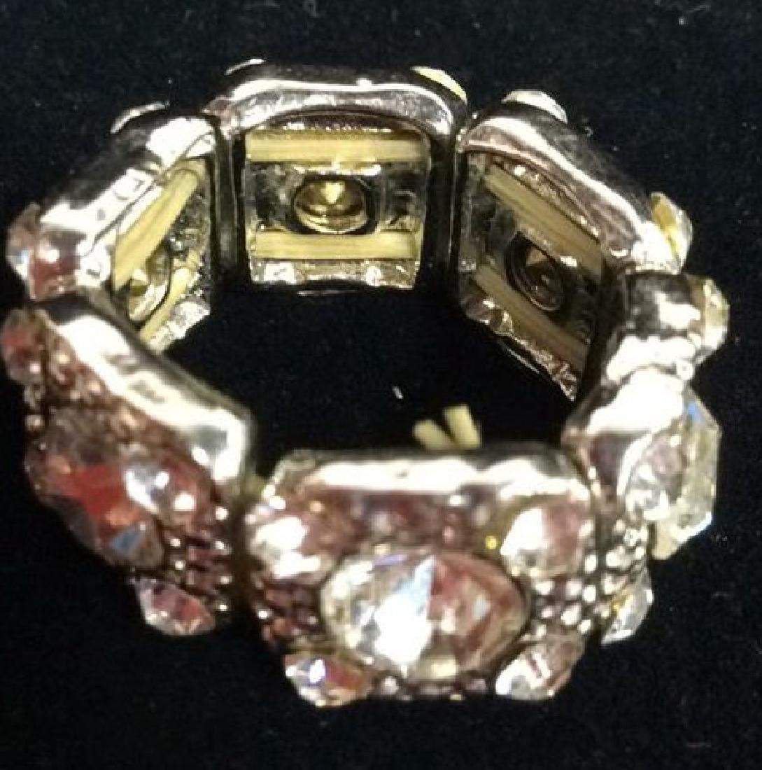 Lot 2 Rhinestone Jewelry Pieces - 6