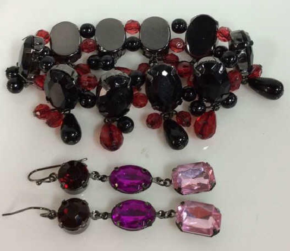 Pair Rhinestone Jewelry