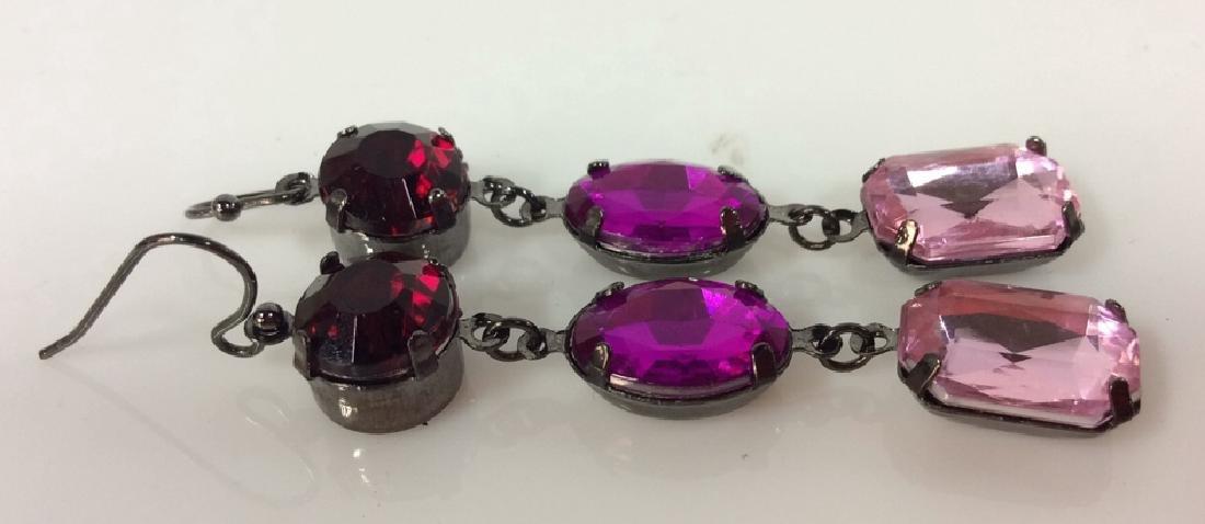 Pair Rhinestone Jewelry - 2