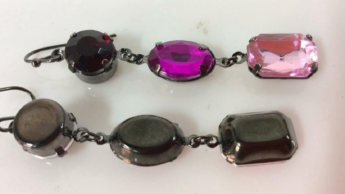 Pair Rhinestone Jewelry - 4