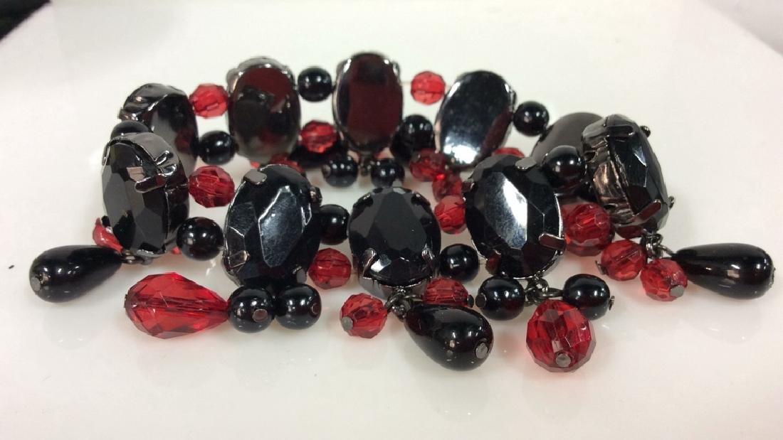 Pair Rhinestone Jewelry - 5