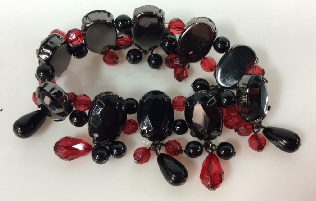 Pair Rhinestone Jewelry - 6