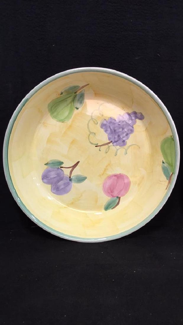 Lot 3 Miscellaneous Serving Dishes, Ital - 3