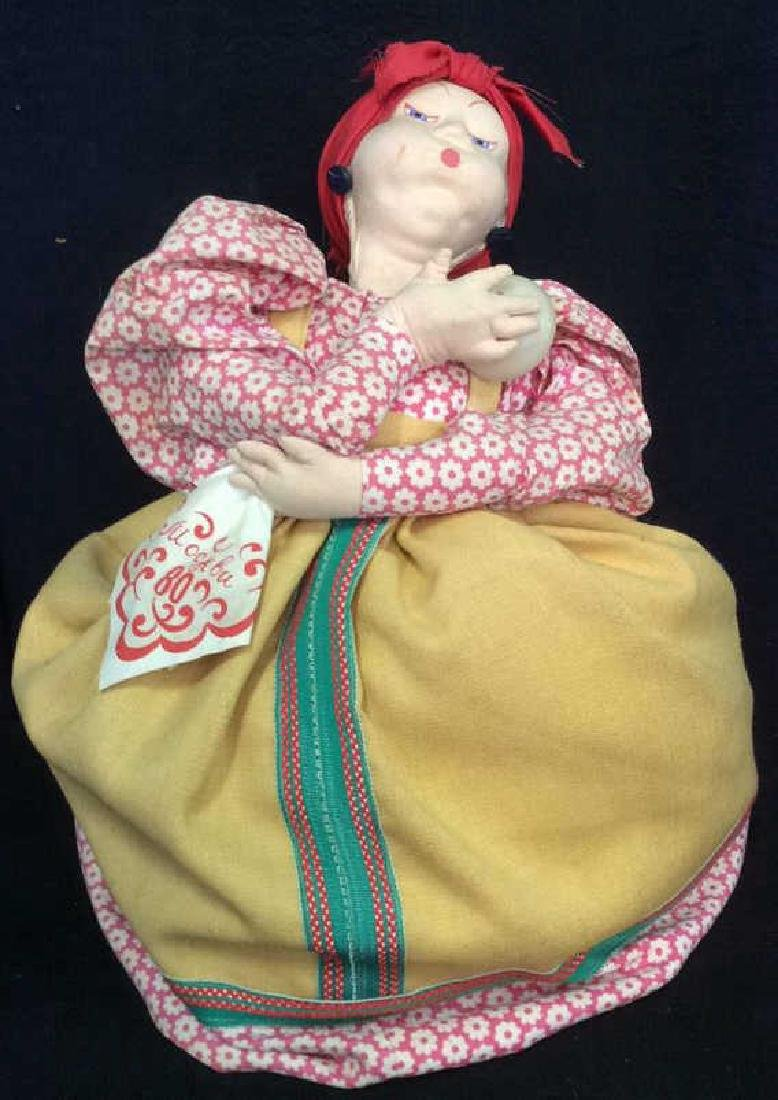 Female Doll W Floral detail Dress