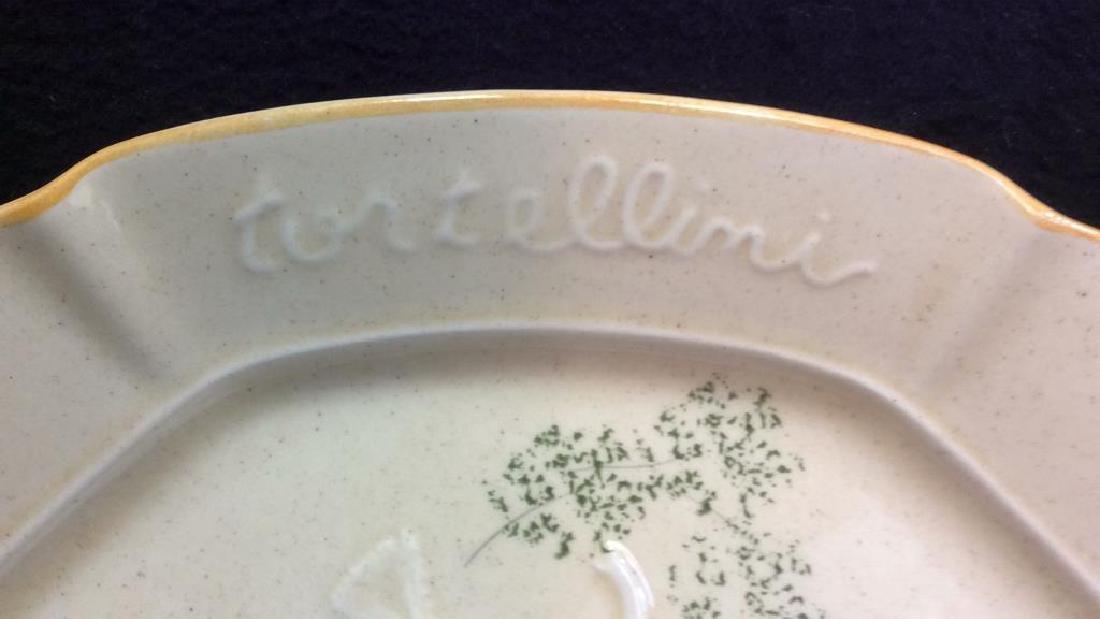 DESIGNCRAFT Painted Ceramic Serving Platter - 4