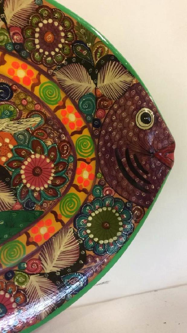 ISABEL ACAPULCO, GRO MEXICO Ceramic Fish Plate - 2