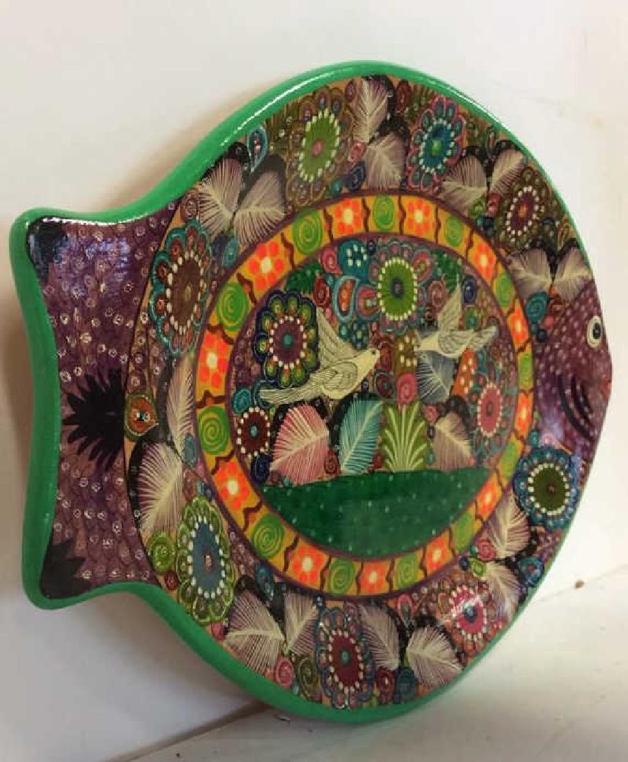 ISABEL ACAPULCO, GRO MEXICO Ceramic Fish Plate - 4
