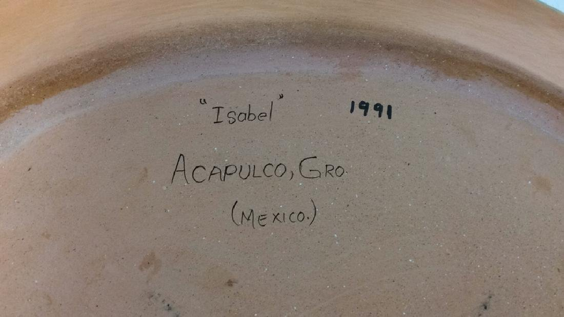 ISABEL ACAPULCO, GRO MEXICO Ceramic Fish Plate - 5