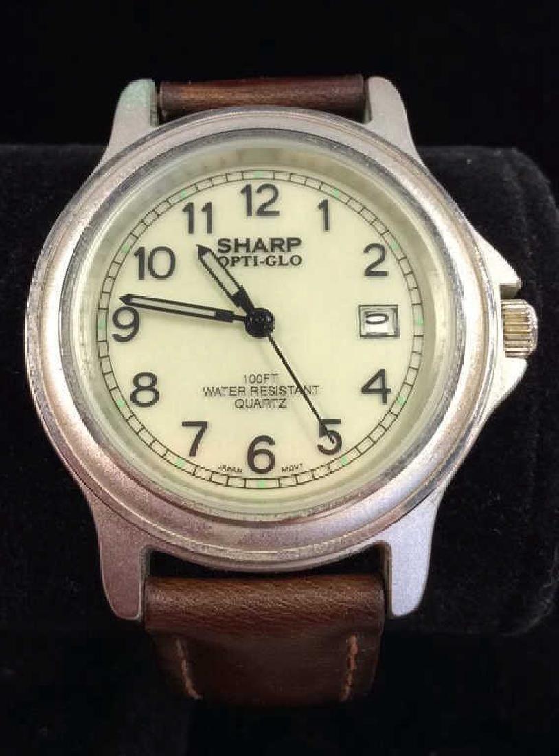 Lot 4 Beaded Bracelets & Watch Jewelry - 2