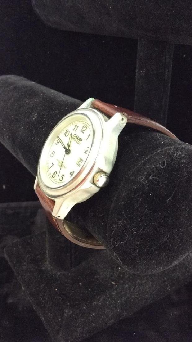 Lot 4 Beaded Bracelets & Watch Jewelry - 3