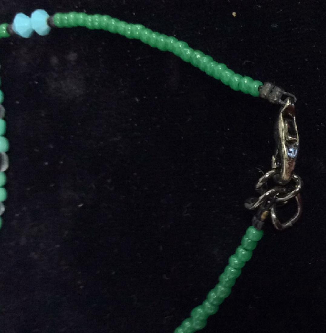 Lot 4 Beaded Bracelets & Watch Jewelry - 7