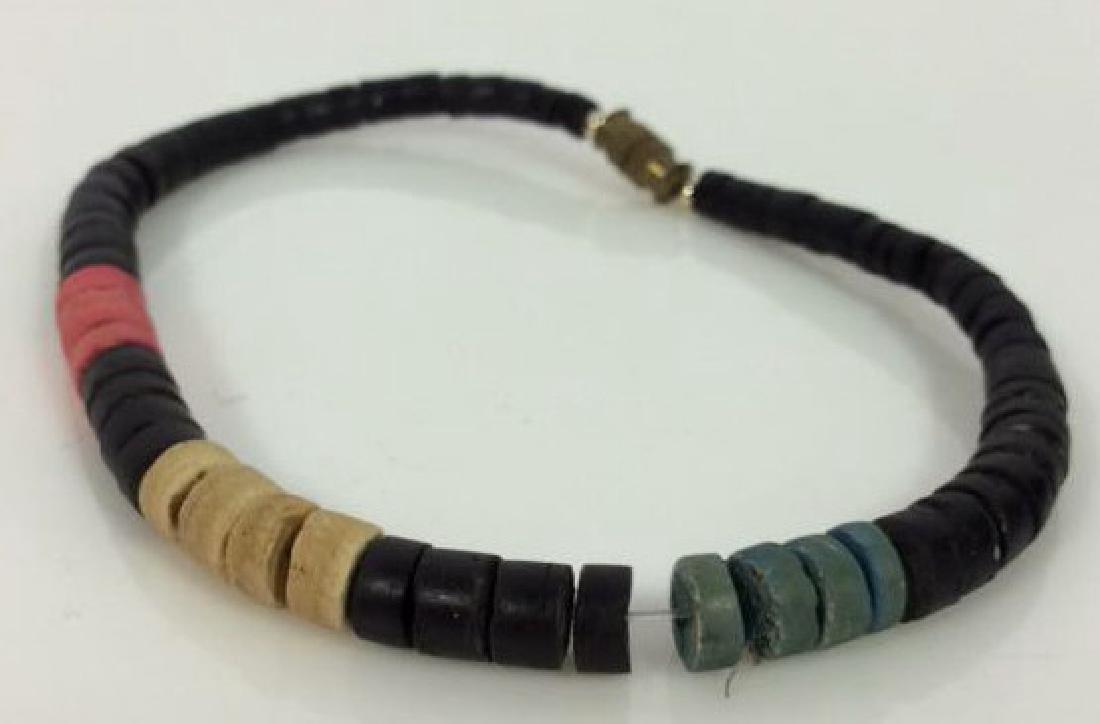 Lot 4 Beaded Bracelets & Watch Jewelry - 9