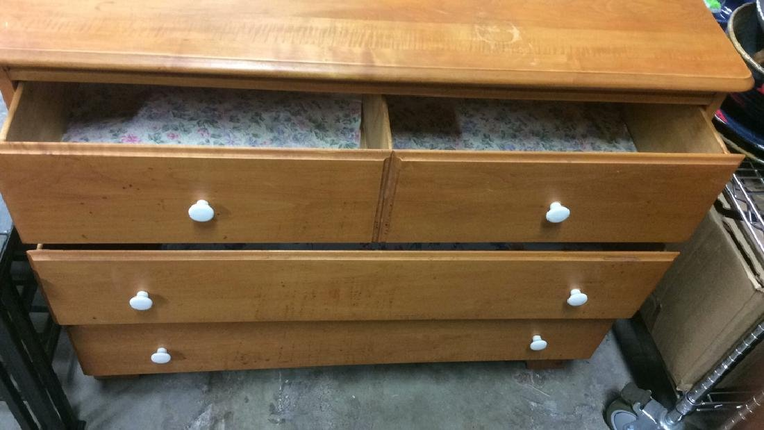 Light brown toned Wooden Dresser - 2