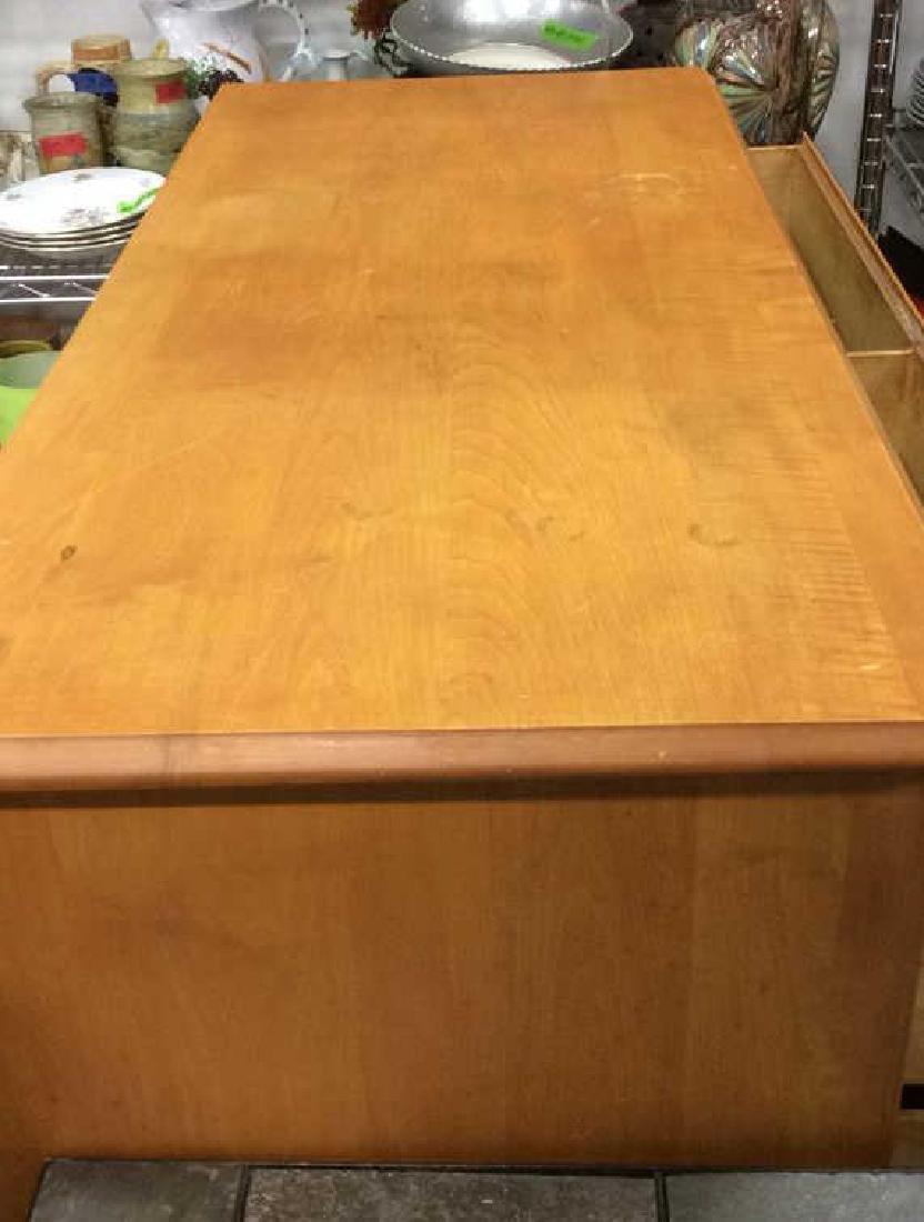 Light brown toned Wooden Dresser - 4