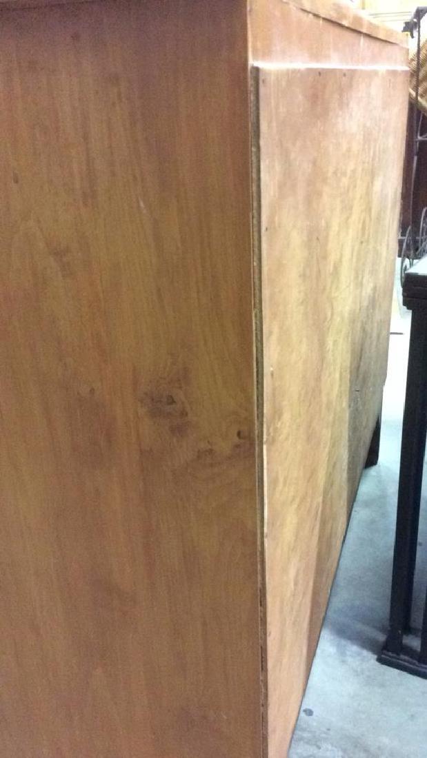 Light brown toned Wooden Dresser - 5